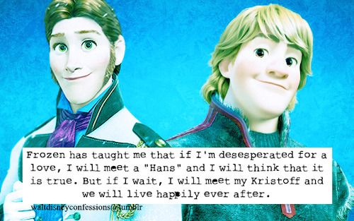 What 'frozen' taught me about love.