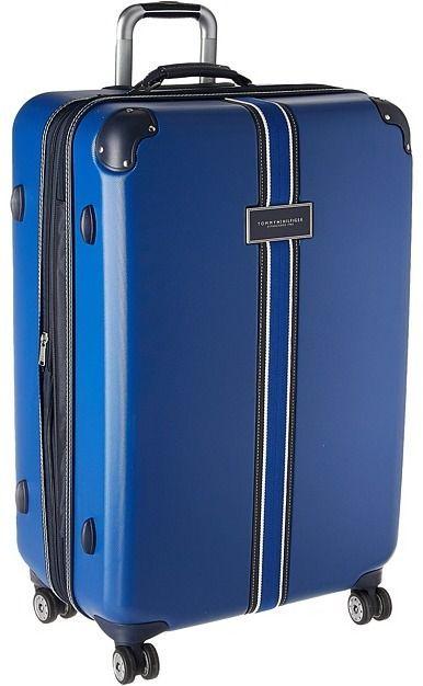 tommy hilfiger luggage trolley