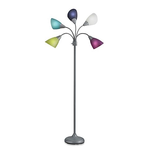 Wonderful Studio 3B™ 5 Light Floor Lamp With CFL Bulbs