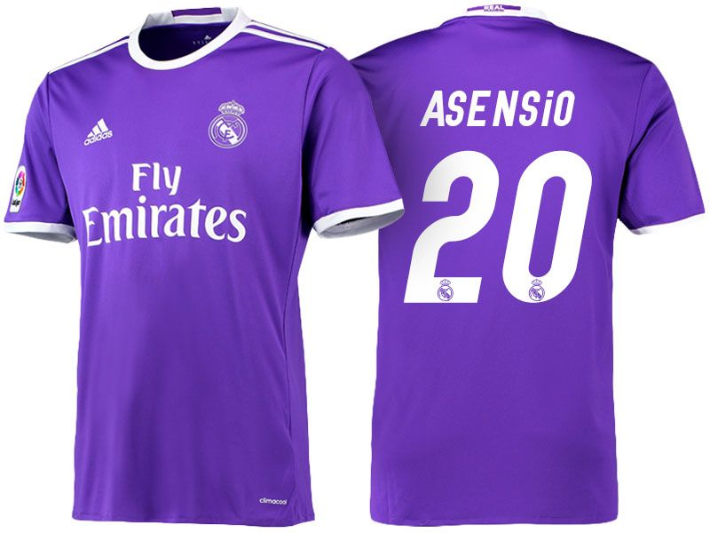 1acb87be888 womens real madrid 23 isco home short sleeves 2016 2017 club soccer ...
