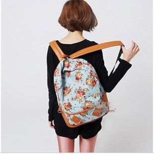 floral backpacks for teenage girls.special offer fashionable ...