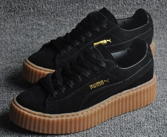 5b1cdb89de3 2016 new Original High Quality MEN PuMaS CREEPERings Rihanna Creeper X for  Women Hombre 36-44 Free shipping Real photos