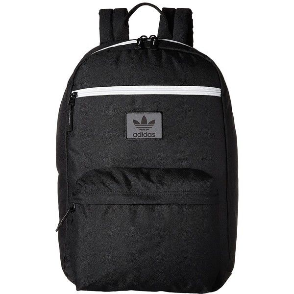 1ba914548986 adidas Originals National Backpack (Black Neo White) Backpack Bags ( 50) ❤  liked on Polyvore featuring bags