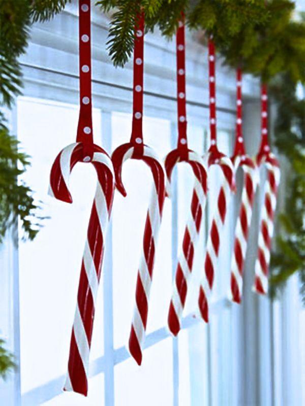 Украшение окон на Новый год и Рождество