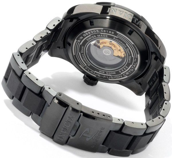 Invicta Reserve Pro Diver Swiss Automatic Lefty Meteorite Watch