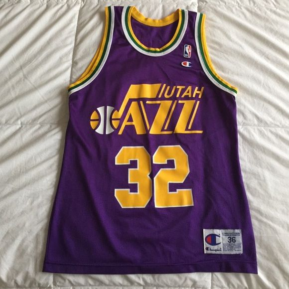low priced 39142 d8c19 Vintage Utah Jazz Jersey (Karl Malone) Vintage Karl Malone ...
