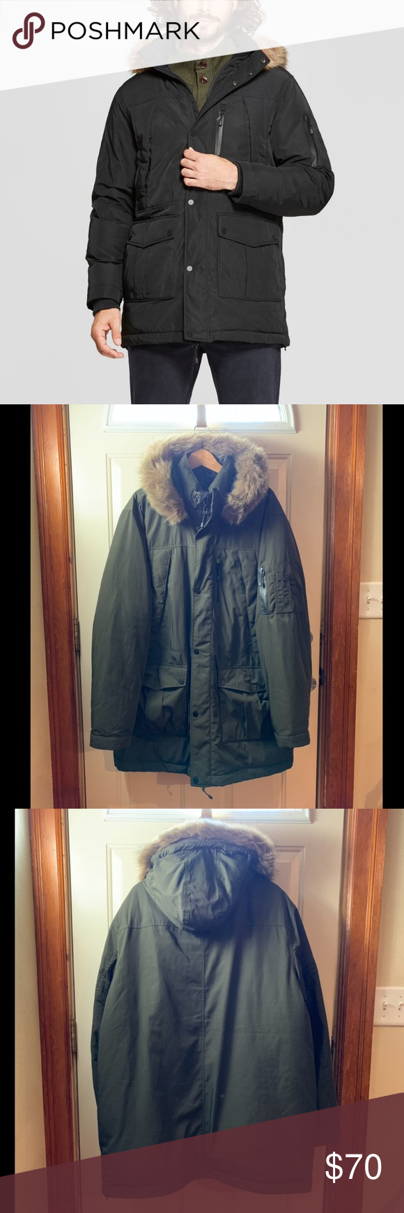 982e2cfd7 Goodfellow & Co | Olive Green Selby Arctic Parka • Goodfellow & Co ...