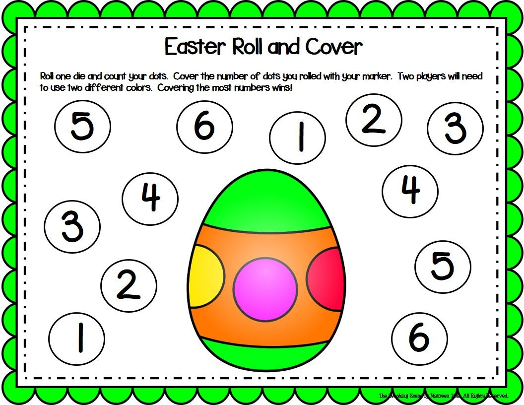 Easter Activities Amp Centers For K 2nd Special Education