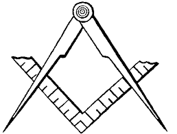 A Mason S Square And Compass Vulcan Compass Symbol Vulcan Pictogram