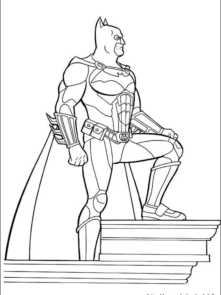 Batman Arkham Knight Coloring Pages Below Is A Collection Of Batman Coloring Page That You Can Download For Free Have Fun With Your Child Coloring Color