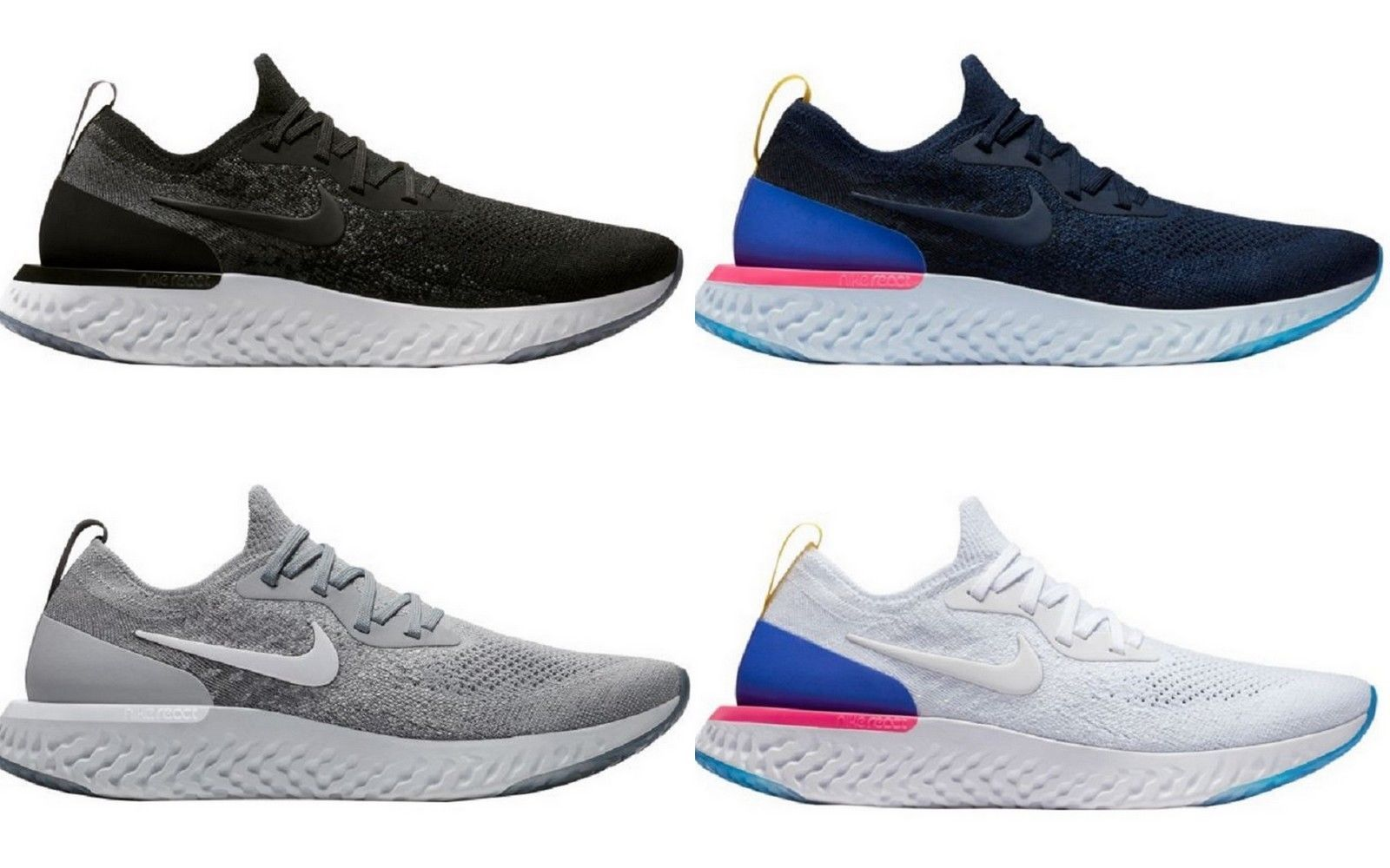 1422fd234796 Athletic 15709  Nike Men S Epic React Flyknit Running Shoes - New With  Box!! -  BUY IT NOW ONLY   172.87 on eBay!