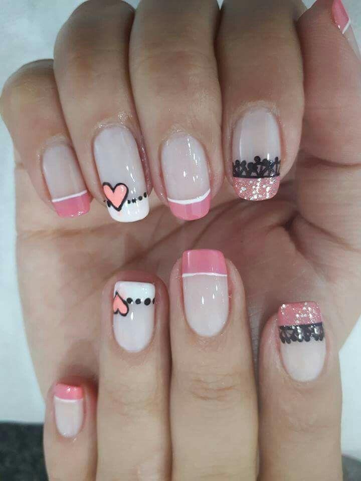 Diseño De Uñas Uñas En 2019 Pinterest Nails Get Nails Y Nail Art