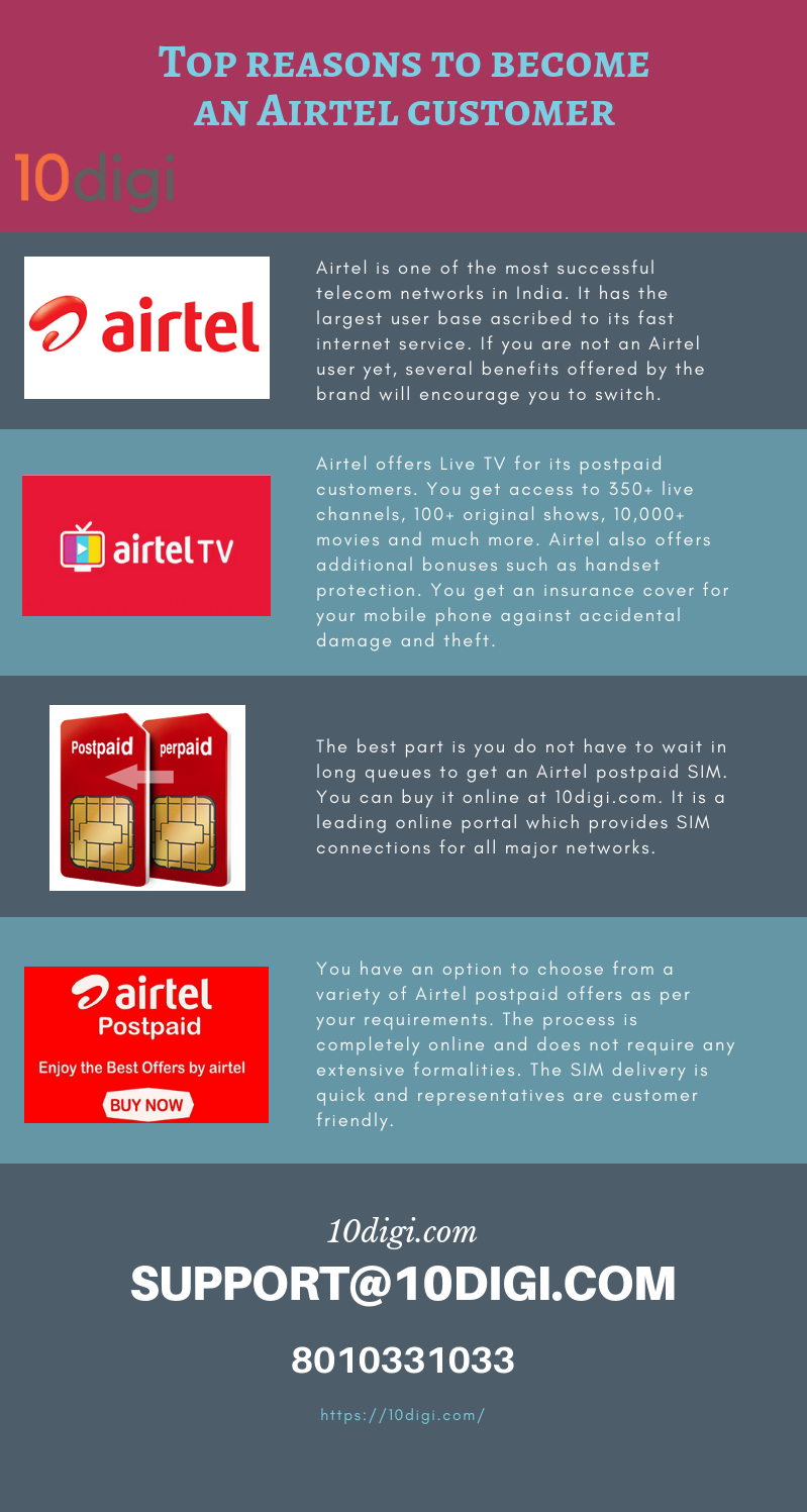 If you are not an Airtel user, you can avail MNP service