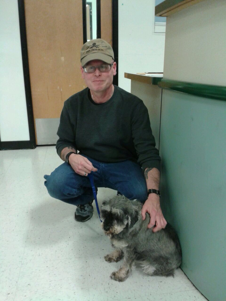 Even senior dogs like Whammy found a new family at the