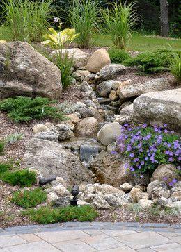 Landscaping Dry River Bed Design Ideas Pictures Remodel And Decor Page 6 Gardening For Landschaftsbau Ideen Landschaftsbau Bachlauf Im Garten
