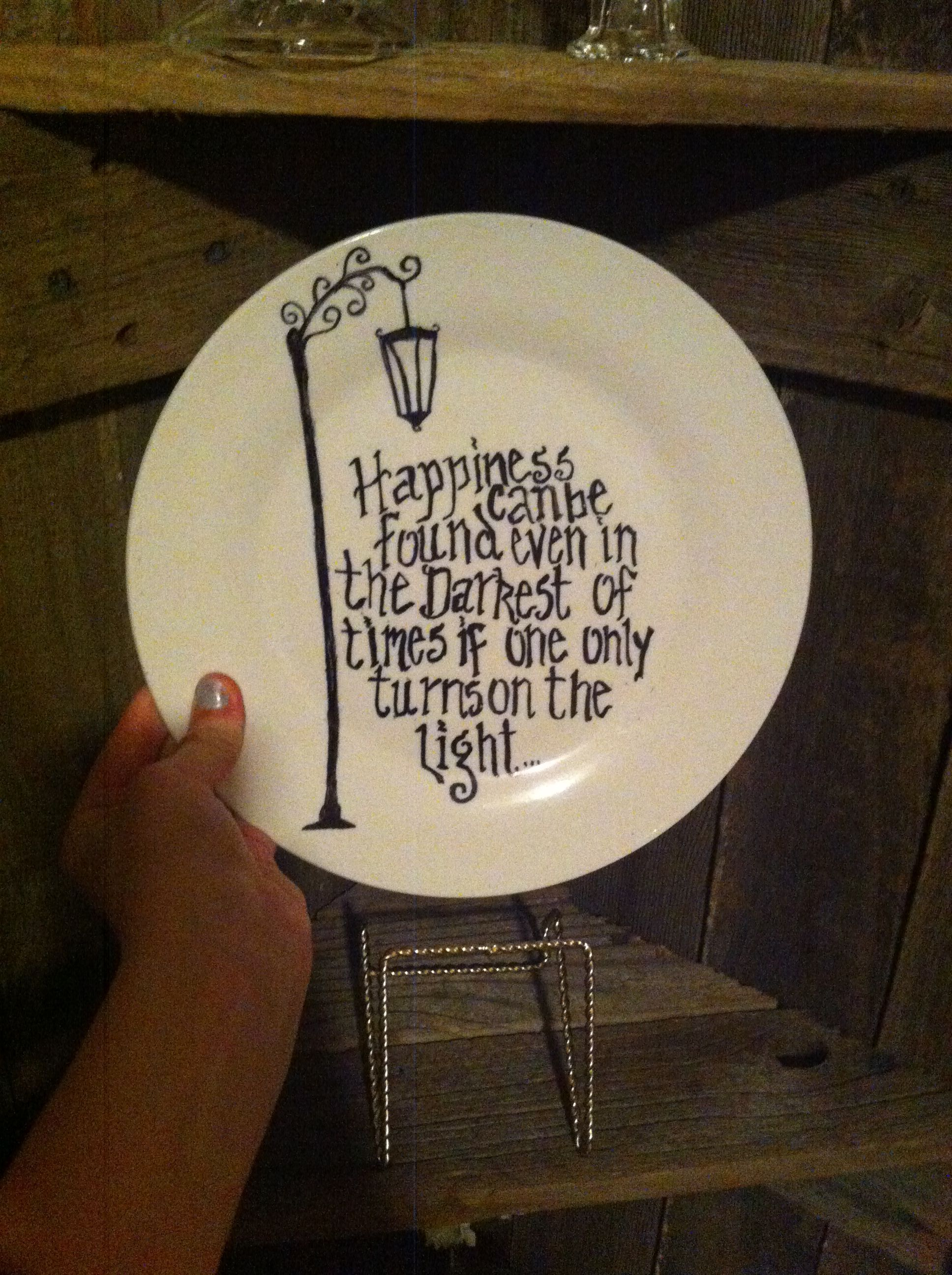 Permanentharry Sharpie Plates Potter Course Quote Bake Oven