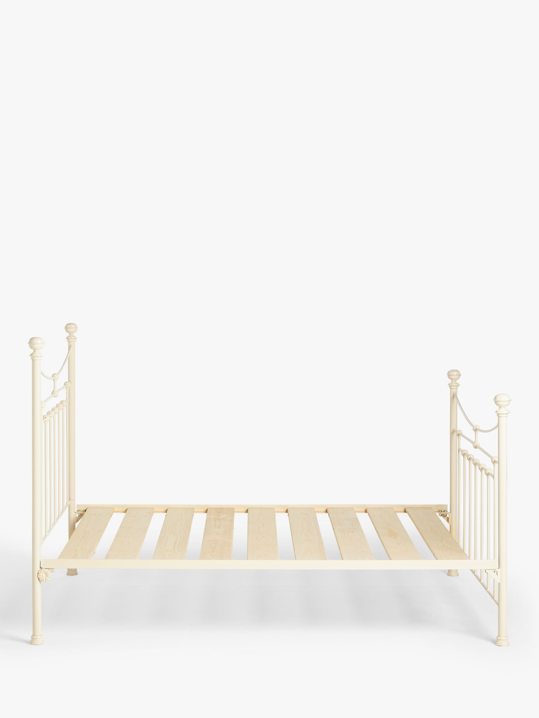 Wrought Iron And Brass Bed Co Lily Iron Non Sprung Platform Top