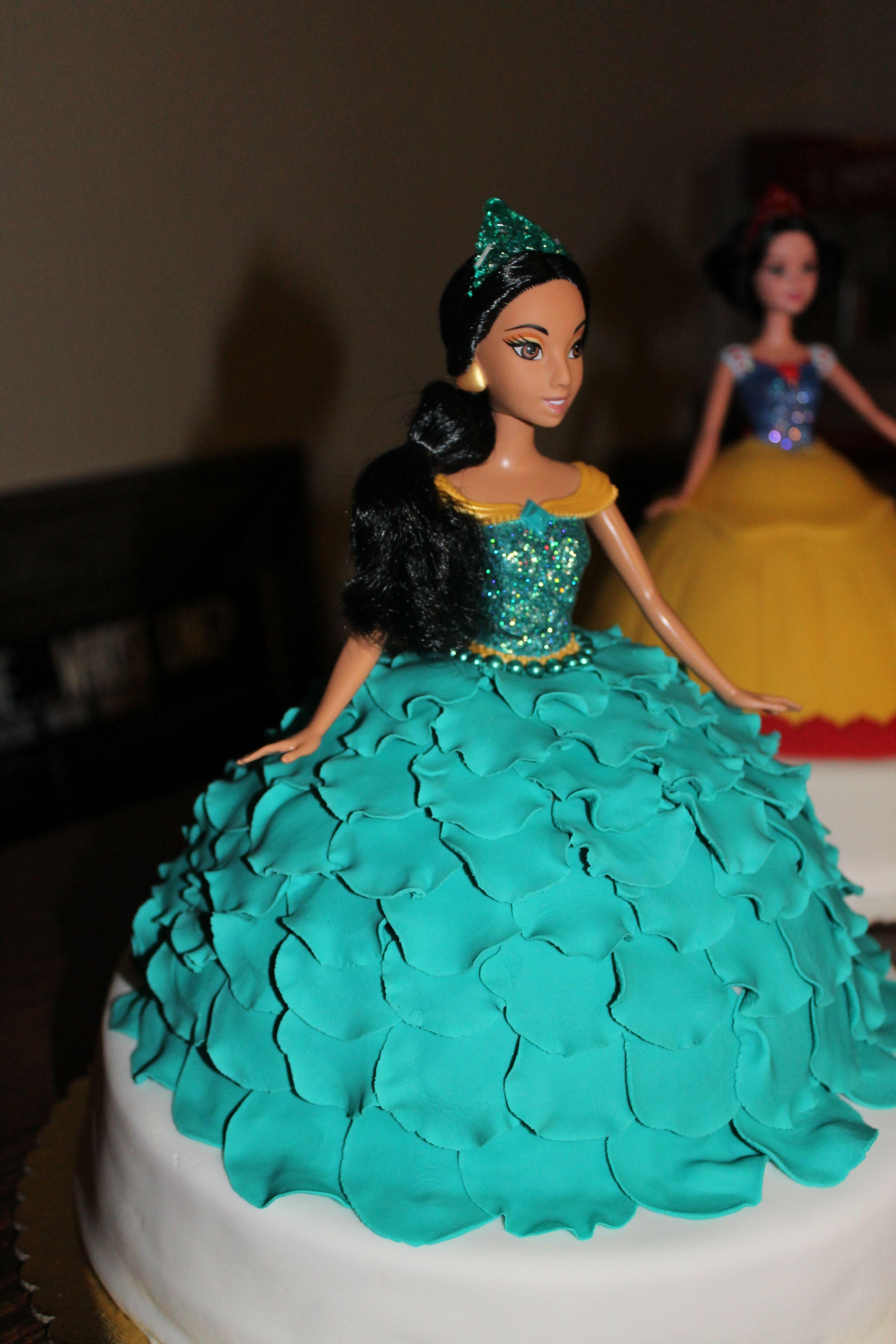 Disney Princess Jasmine cake cakes Pinterest ...