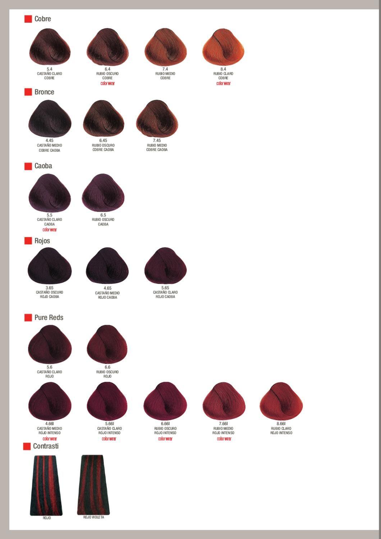 Tonos Carta De Colores De Pelo Issue Carta De Colores Evolution Of The Color Carta De Colores