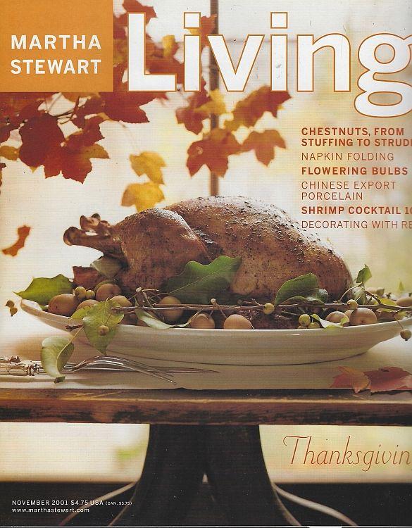 Martha Stewart Living Magazine November 2001 Stewart Martha In 2020 Martha Stewart Living Magazine Martha Stewart Living Garden Cooking