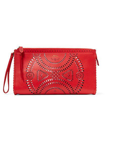 Polo Ralph Lauren - Laser-Cut Leather Clutch £260  2798fb9cdd671