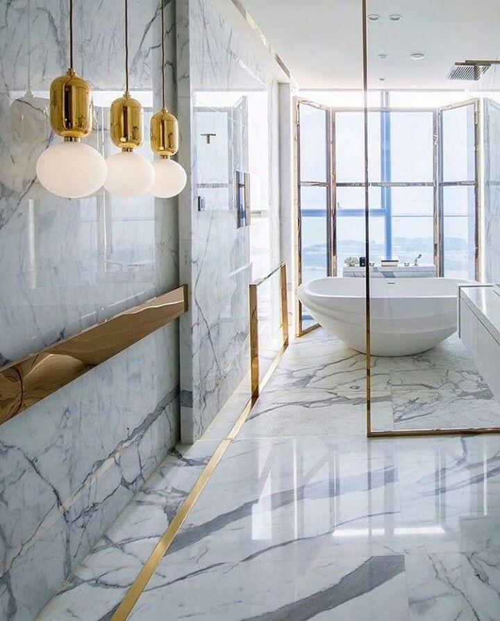 Marble Bathroom Design  Stones  Pinterest  Bathroom Designs Simple Marble Bathroom Designs Decorating Inspiration