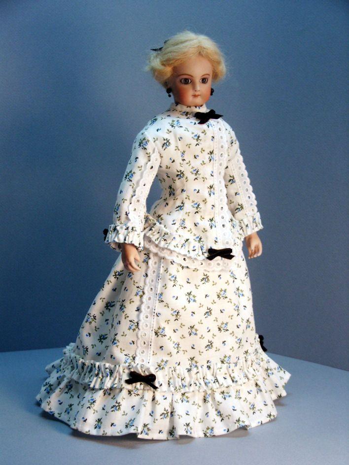 basic 1910 dress pattern | Morning Dress Late 1860's