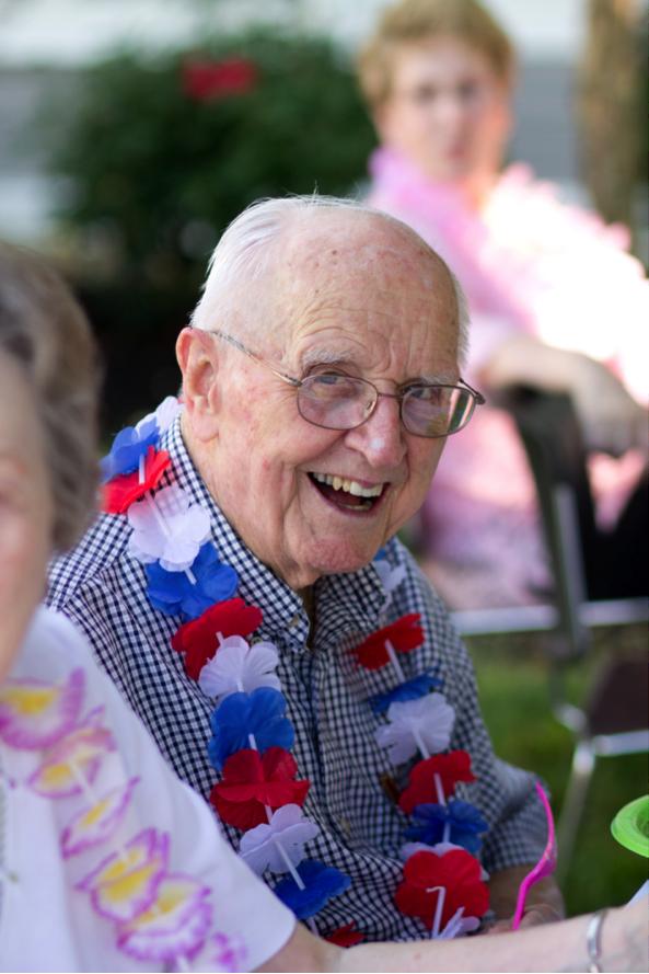 Veteran Russell A., Atria Elizabethtown Resident Atria