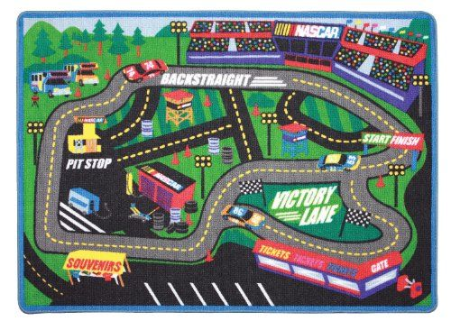 Lowes Area Rugs NASCAR Racing Play Rug