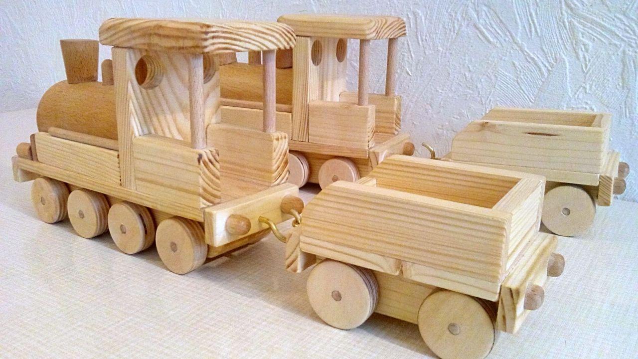 Lokomotive Aus Holz Bauanleitung Zum Selberbauen 1 2 Do Com Deine Heimwerker Community Holzspielzeug Selber Bauen Kinder Holz Holz