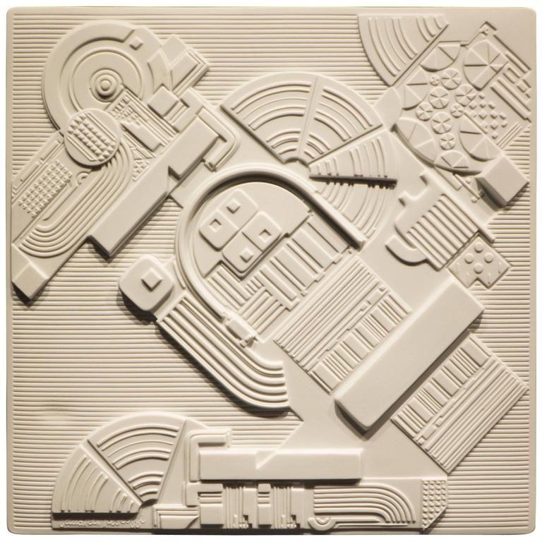 Eduardo Paolozzi Plaque For Rosenthal In 2020 Eduardo Paolozzi Contemporary Modern Art Wall Sculptures