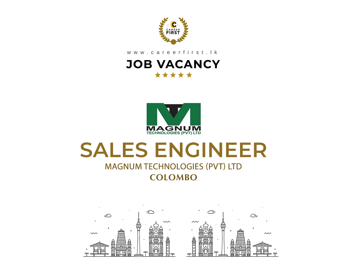 SALES ENGINEER MAGNUM TECHNOLOGIES (PVT) LTD in 2020