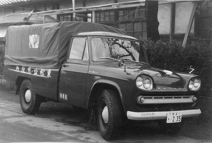 中型貨物車 昭和39年 レトロ 車 レトロカー 旧車