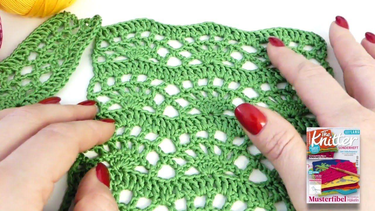 Häkelmuster Bogenstreifen | Häkeln / Crochet | Pinterest ...