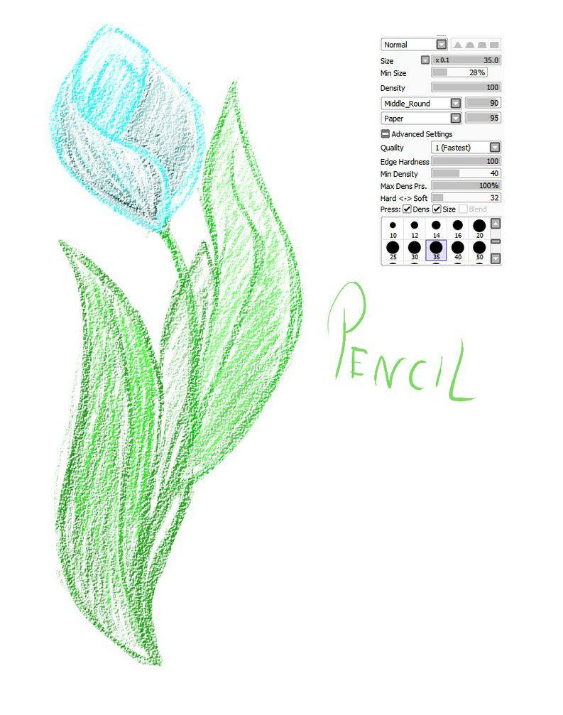 04 paint tool sai brush crayon brush by catbrushes on deviantart