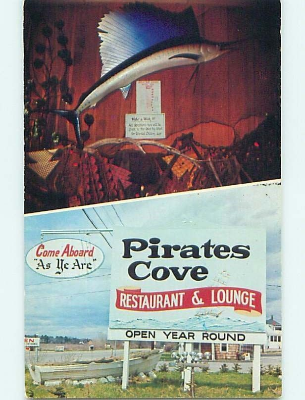 Pirates Cove Restaurant Rye Nh Come Aboard As Ye Are