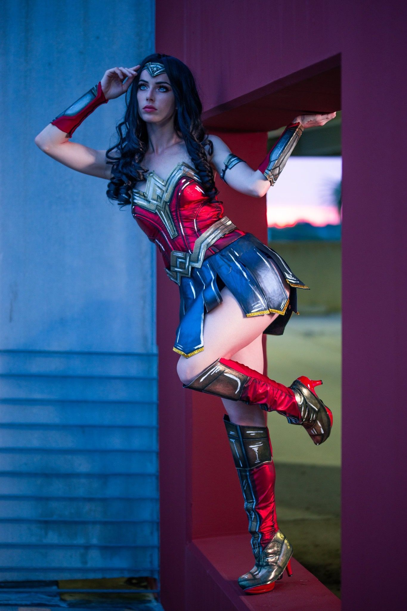 Megan Coffey   Wonder woman, Best cosplay, Megan coffey