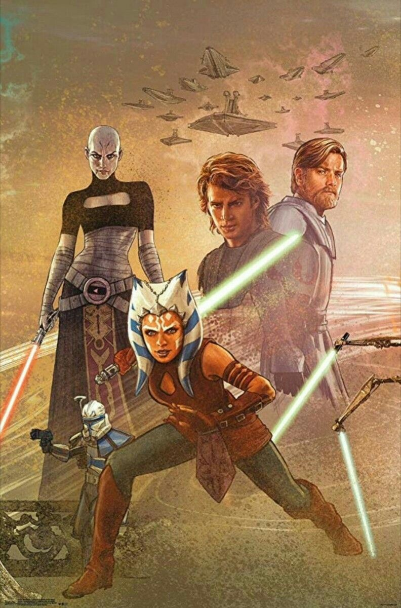 Pin By Aislin On Star Wars Star Wars Poster Star Wars Ahsoka Star Wars Pictures