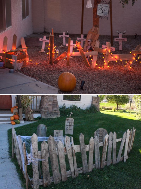 20+ Pallet Wood Halloween Decoration Ideas for Indoor
