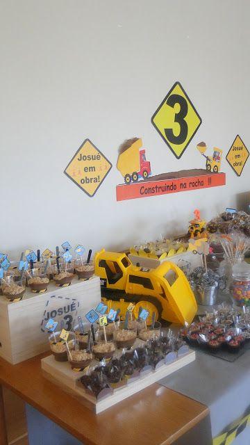 Festa de Aniversário: construção!