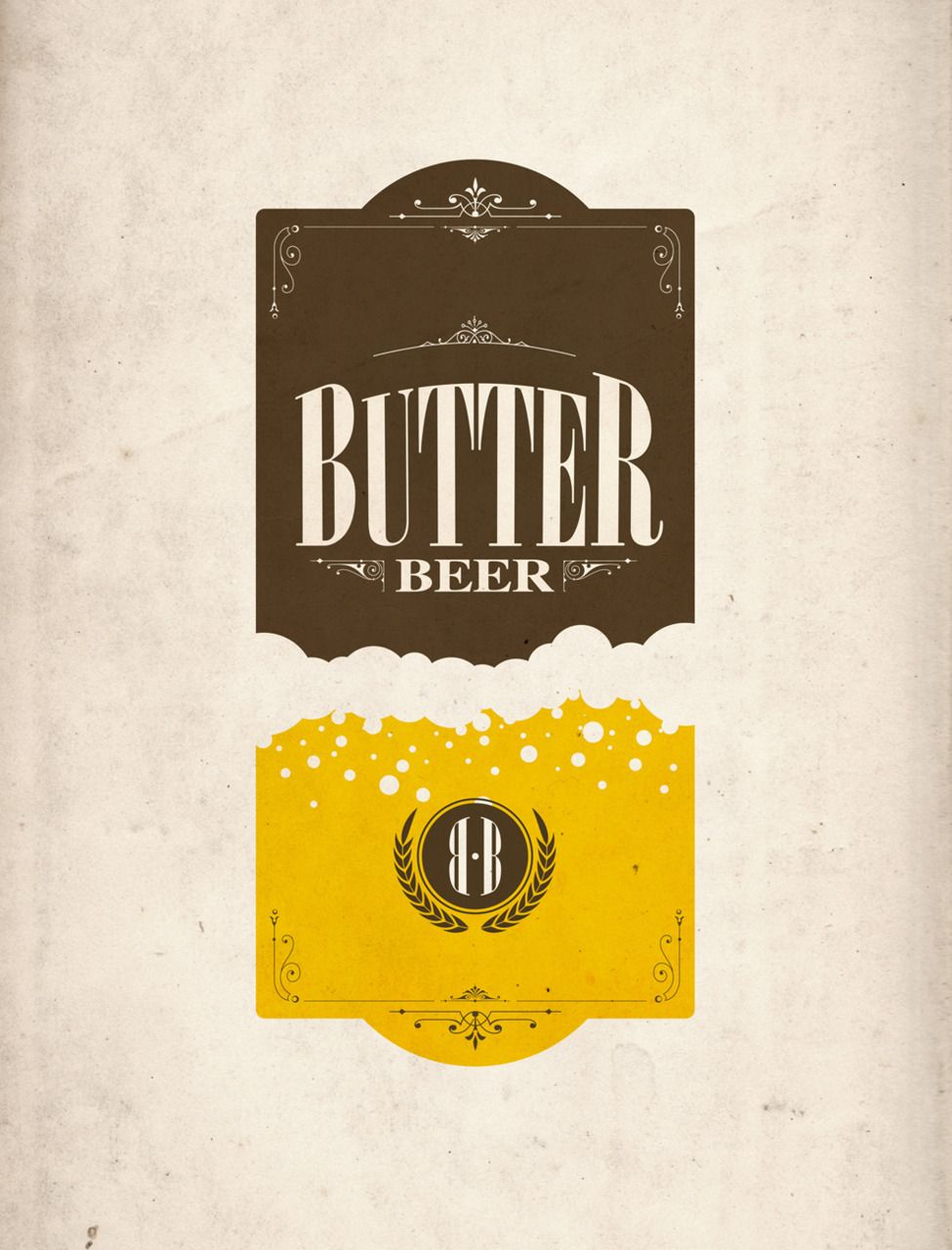 Drink Of Choice At Potter World That Is Oktoberfest Graphik Etiketten
