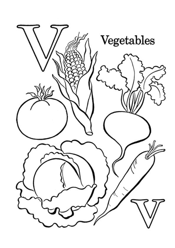 Print Coloring Image Momjunction Alphabet Coloring Pages Abc Coloring Letter V Crafts