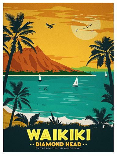 Etoile du nord pullman travel poster poster print sticker or canvas print travel posters vintage travel and oahu