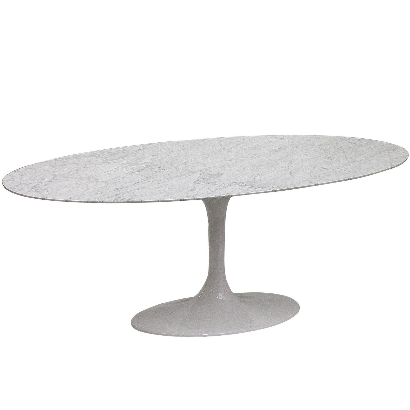Saarinen Style 78 Oval Marble Tulip Table Multiple Colors Designer Reproduction Mid Century Mode Marble Top Dining Table Dining Table Marble Dining Table