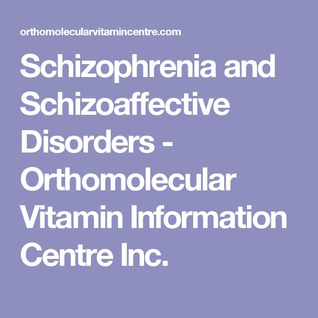 schizoaffective pathophysiology