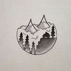 Colorado Love Tattoo Doodle Mini Drawings Art Drawings