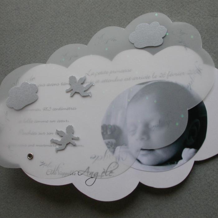 Populaire faire part naissance nuage - Recherche Google | Bebe | Pinterest  AF79