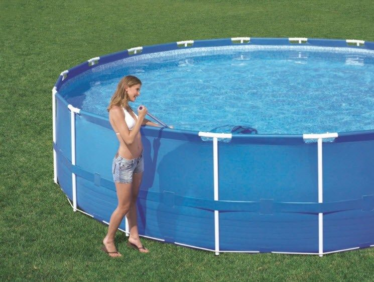 Above Ground Swimming Pool Outdoor Above Ground Pool ...