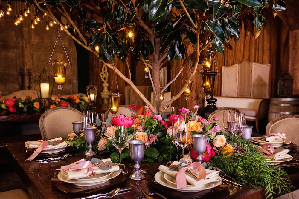 Dance The Night Away At A Disney Tangled Inspired Party Reception