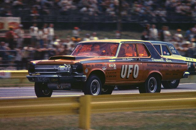 1965 Plymouth AWB car of the Tignanelli brothers  Note